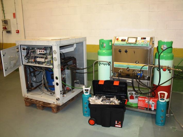 Equipos de limpieza circuitos frigorificos