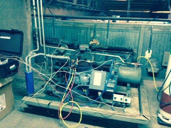 Retrofit of a chiller in Madrid