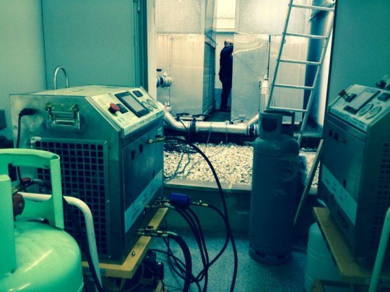 Retrofit of a Climaveneta chiller in Huelva