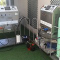 Cleaning a VRV Hitachi system in Madrid