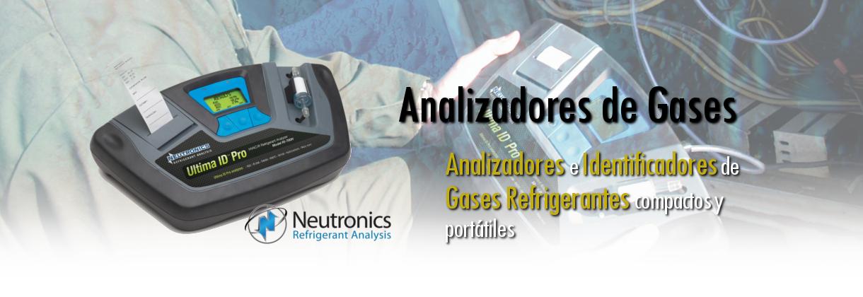 Analizadores de gases refrigerantes Neutronics