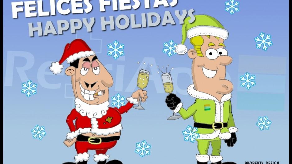 RefriApp te desea Felices Fiestas